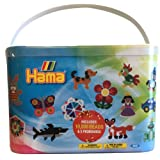 Hama Beads 10,000 Beads and Pegboards Tub
