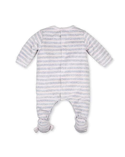 Tutto Piccolo P.Perrault 3086W17, Pelele Largo con pie para Bebés, Pink, 0M: Amazon.es: Ropa y accesorios