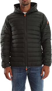 SAVE THE DUCK 0390X giubbotto uomo black ultra light jacket men