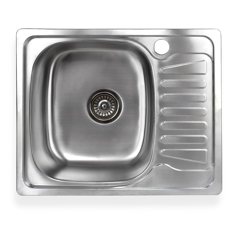 Amazon.de: Küchenspülen - Kücheninstallation: Baumarkt: 1 Becken ...