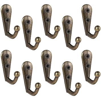 BESTOMZ 10 unidades perchero Vintage Gancho para tornillos ...