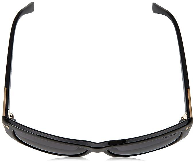 0dec35f6d7 Amazon.com  Tom Ford Sunglasses TF 434 Lindsey Sunglasses 01D Black 58mm  Tom  Ford  Clothing