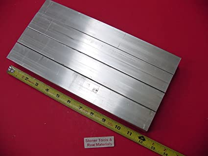 "3 Pieces 3//4/""x 1-1//2/""x 1//8/"" Wall ALUMINUM RECTANGLE TUBE 6063 T52 x 12/"" Long"
