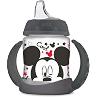 NUK Disney Learner Cup with Silicone Spout, Mickey Mouse, 5oz
