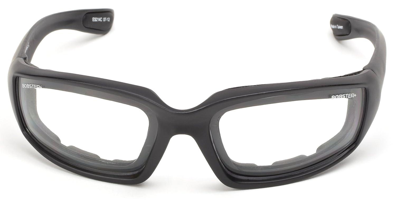 Bobster DAG-00007 Foamerz 2 Sport Sunglasses,Black Frame//Amber Lens,one size