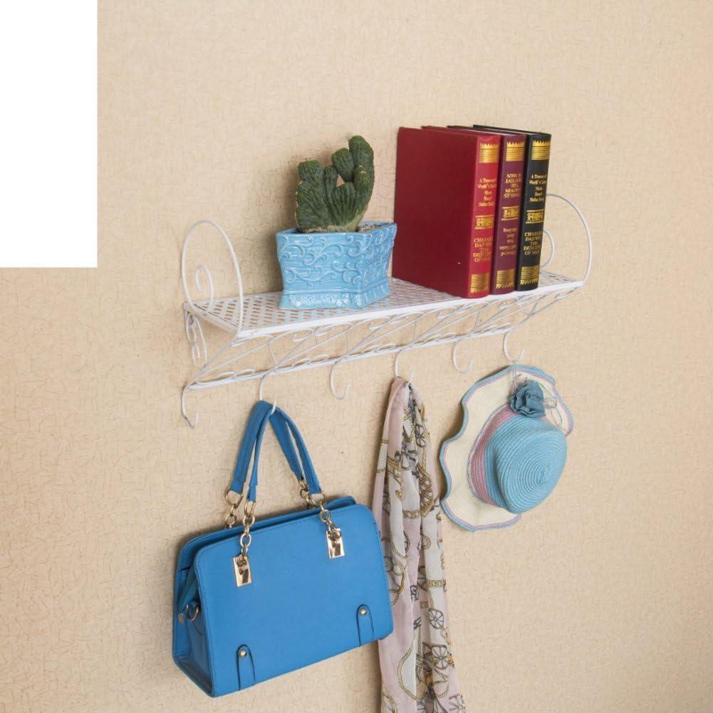 Jardín forja pared/Estante/baño/cocina/Perchero/repisa/flor-A: Amazon.es: Bricolaje y herramientas