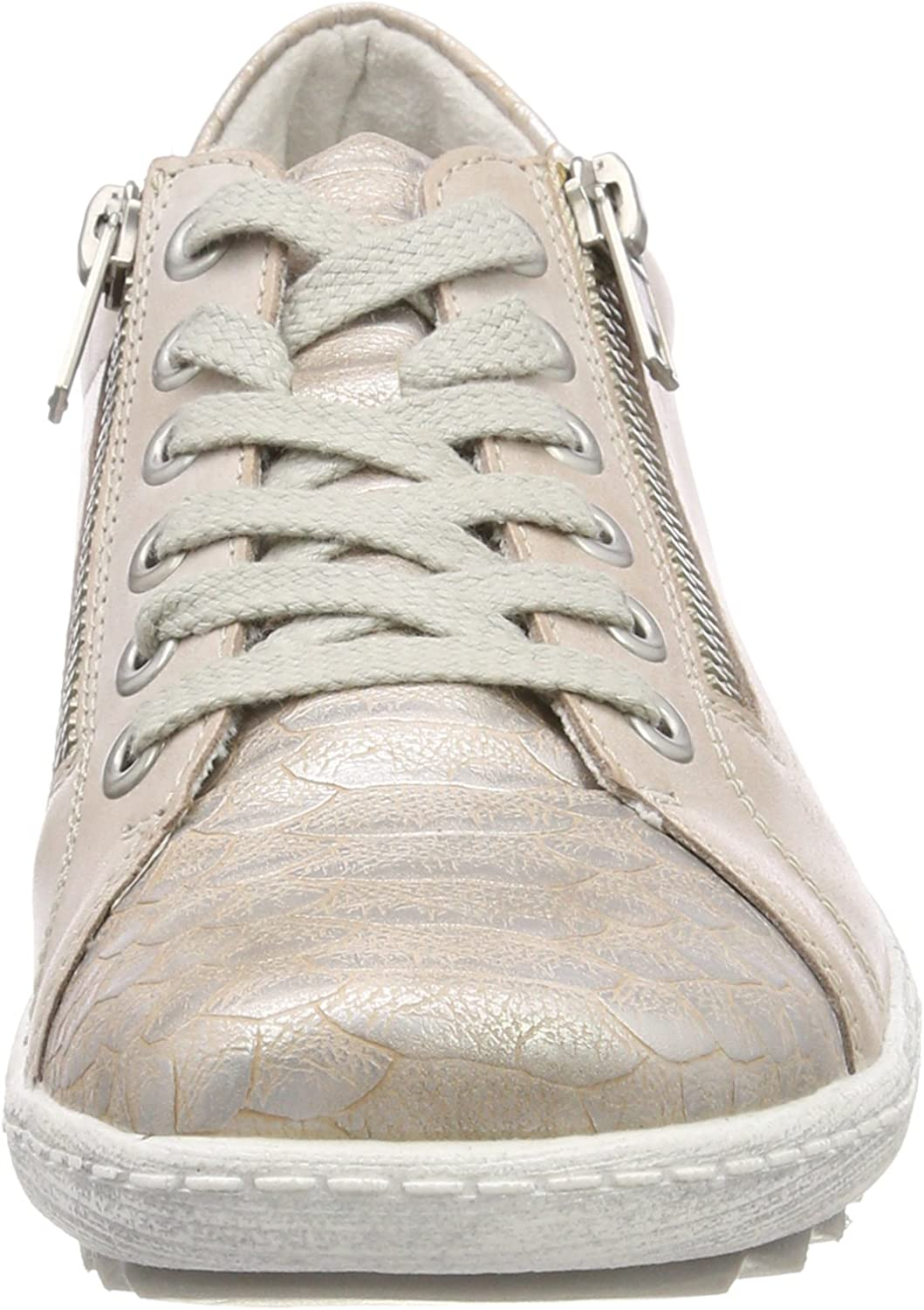Remonte R1405 Sneakers voor dames Pink Ginger oudroze
