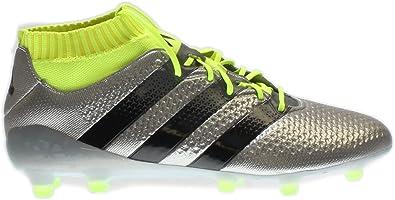 59cb1a465dbc ... clearance adidas ace 16.1 primeknit firm ground cleats silvmt cblack  syello 7 28afa 5129c
