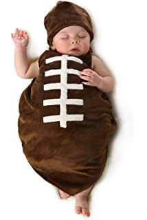 Football baby costume difficult