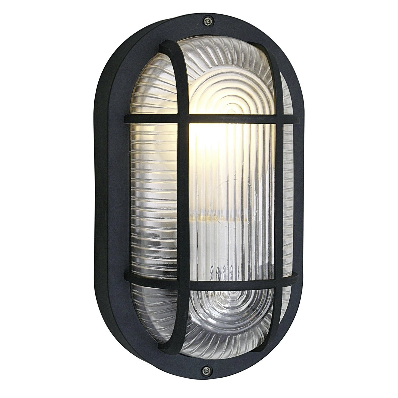 Eglo anola black oval bulkhead light outdoor wall light 88802 eglo anola black oval bulkhead light outdoor wall light 88802 amazon lighting aloadofball Choice Image
