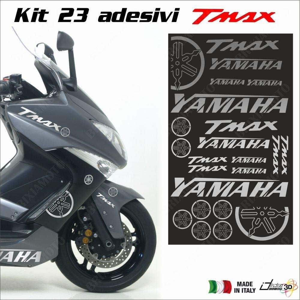 Blatt Mit Aufklebern Silber Fits Fit FÃœr Yamaha T Max 500 01 11 T Max 530 12 18 Auto