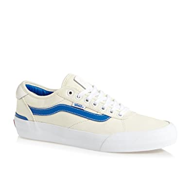 4556e239110d10 Vans Chima Pro 2 Center Court Classic White Victoria Blue Skate Shoes   Amazon.co.uk  Shoes   Bags