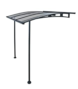 outdoor amazon palram cl awning lyra com ft x dp garden