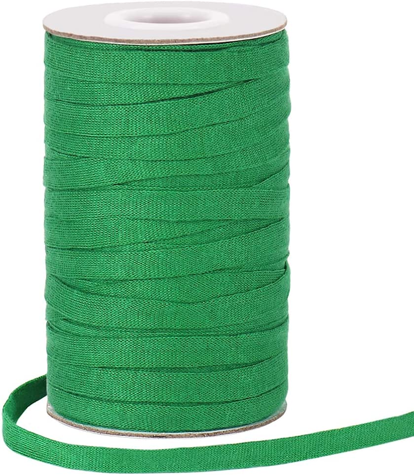 Garden Tree Tie, 164 Feet 8mm Soft Durable Green Plant Twine Stretchy Tree Supports Biodegradable for Gardening, Home, Outdoor