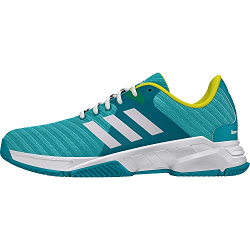Adidas Men s Barricade Court 3 Hiraqu Ftwwht Shoyel Tennis Shoes-10 ... 1e5b97b2f33