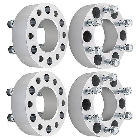 """4pcs 2 adaptadores espaciadores de rueda de """"Lincoln 6 x 135 x 14 x"""