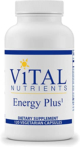Vital Nutrients – Energy Plus – Non-Stimulatory Herbal Energy Support – 120 Vegetarian Capsules per Bottle