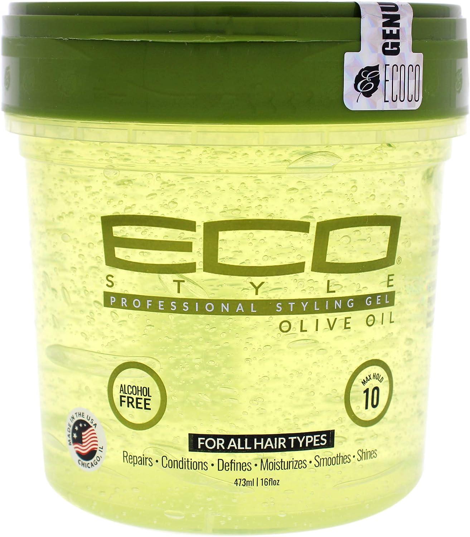 Eco Styler Gel Coiffant A Base D Huile D Olive 473 Ml Amazon Fr Beaute Et Parfum