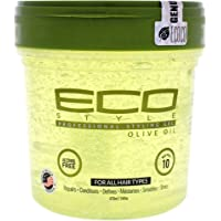 Eco Style Olive Oil Hair Styling Gel, 473 ml, 16 oz