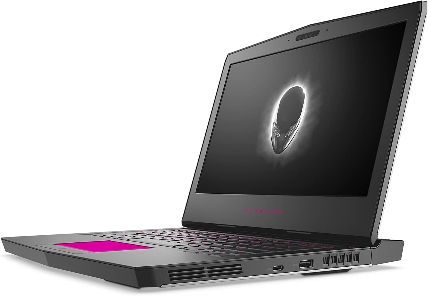 Alienware AW13R3-7420SLV-PUS 13.3in Gaming Laptop (7th Generation Intel Core i7, 16GB RAM, 512 SSD, Silver) VR Ready with NVIDIA GTX 1060 (Renewed)