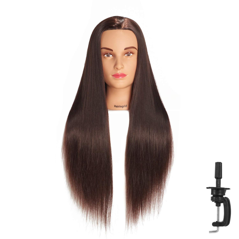 "Hairingrid 26""-28"" Mannequin Head Hair Styling"