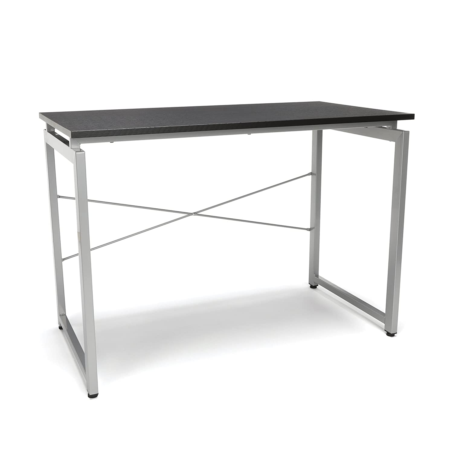 OFM Essentials Collection Floating Top Office Desk, in Espresso