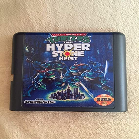Value-Smart-Toys - Turtles The Hyperstone Heist bit MD Game ...