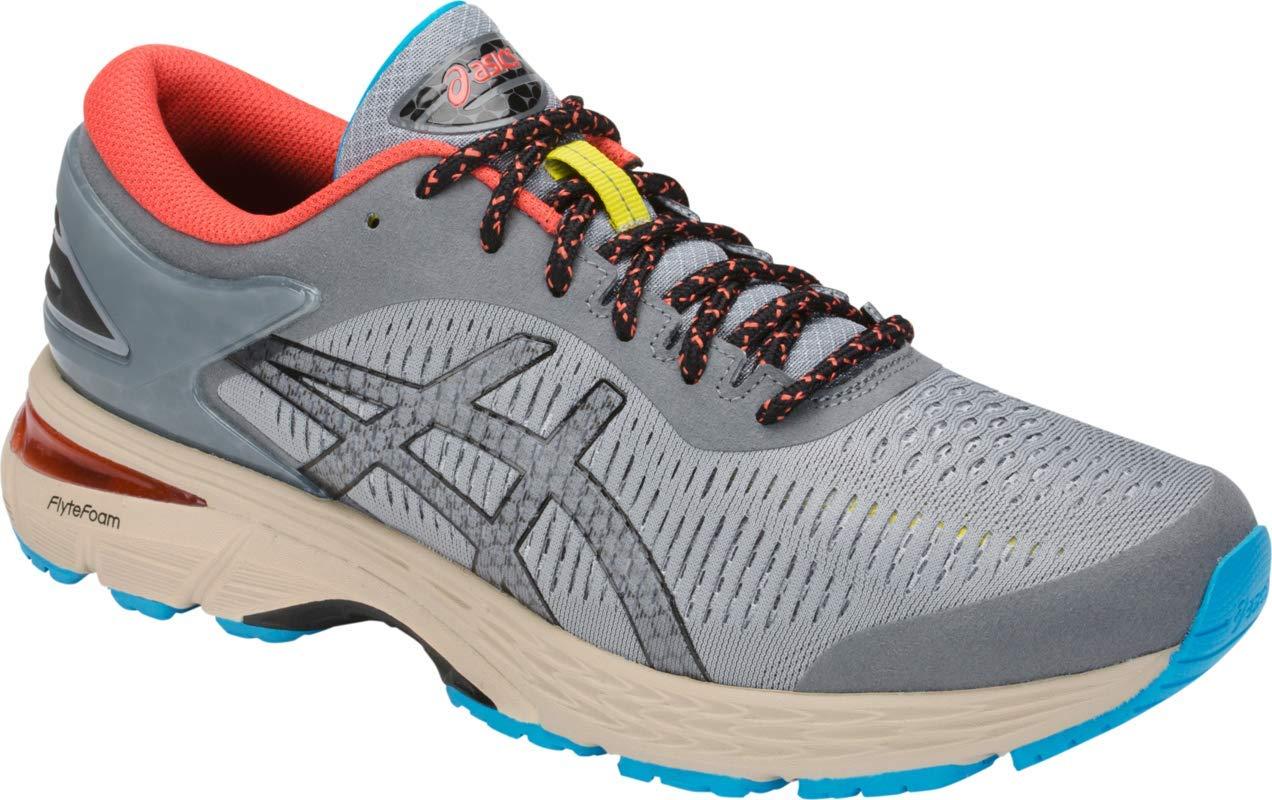 ASICS Gel-Kayano 25 Men's Running Shoe, Stone Grey/Black, 7 D US by ASICS (Image #2)