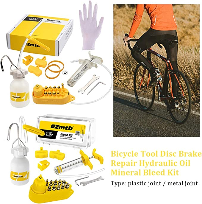 Universal Bicycle Hydraulic Disc Brake Mineral Oil Bleed Kit for SHIMANO MAGURA