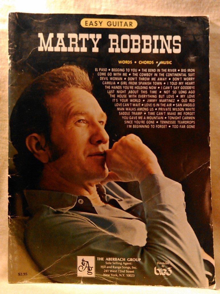 Marty Robbins Vocalpiano Words Chords Music Marty Robbins
