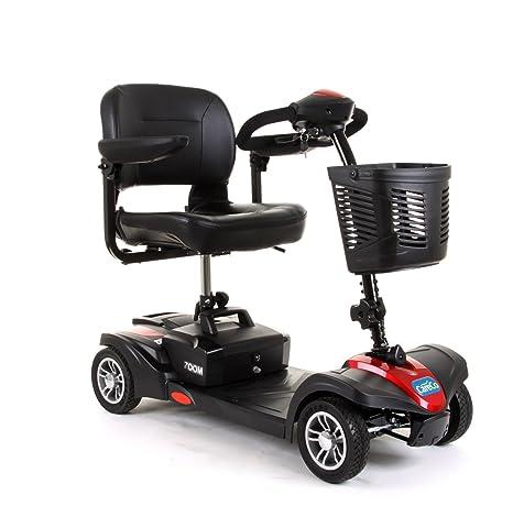 CareCo Zoom Travel Mobility Scooter - Patinete de 4 ruedas ...