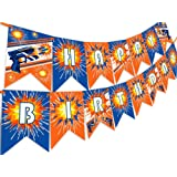 Dart War Happy Birthday Banner Pennant