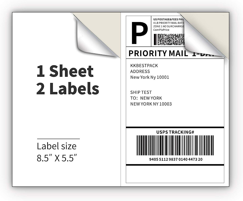 "4/"" x 5/"" Labels for Shipping//Mailing from SheetLabels.com Laser or Inkjet Printa"