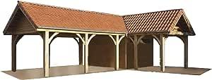 Amazon.com: Carport Plans DIY Outdoor Canopy Car Shelter