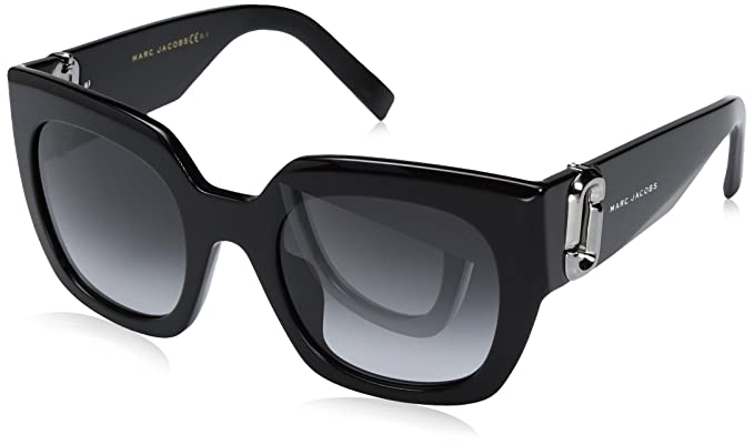 8b59b462b4 Amazon.com  Marc Jacobs Women s Marc110s Square Sunglasses