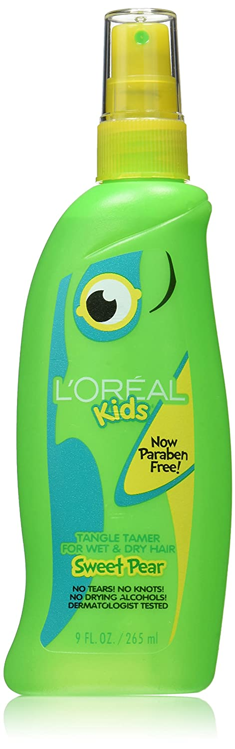 L'Oreal Kids Burst of Sweet Pear Tangle Tamer for All Hair Types, 9.0 Fluid Ounce L' Oreal Paris Hair Care KE339010