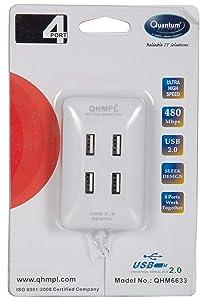 Quantum QHM6633 4-Port USB Hub (Multicolor)