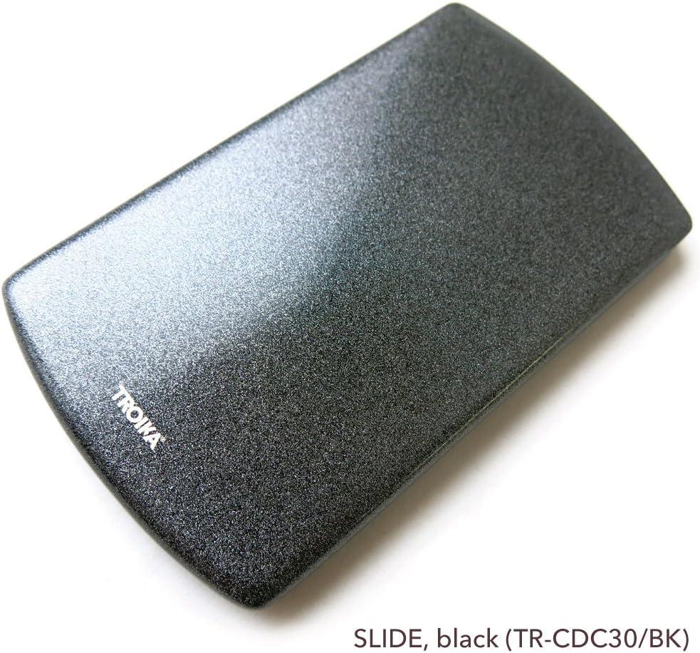 Troika SLIDE Caja para tarjetas de visita 10 centimeters Plateado Silber