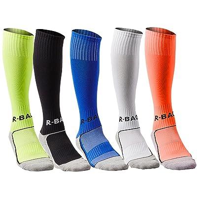 Compression Athletic Socks Knee High Sports Socks Team Athletic Performance Socks for Kids Boys