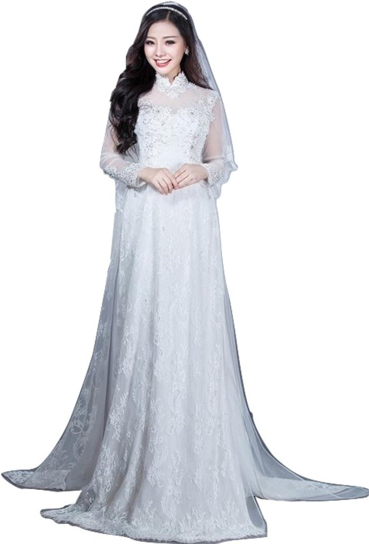 Udesignwecustomize Womens Vietnamese Traditional Wedding Dress Ao