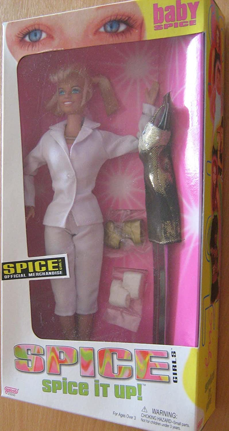 Spice Girls 1998 Spice it up Emma Lee Bunton DOLL by Galoob BABY SPICE