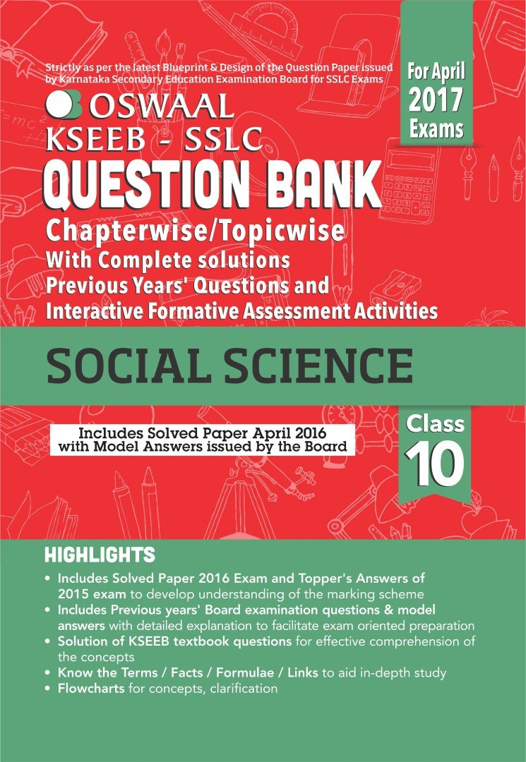 Oswaal kseeb sslc question bank with complete solution interactive oswaal kseeb sslc question bank with complete solution interactive formative assessment activities for class10 social science malvernweather Gallery