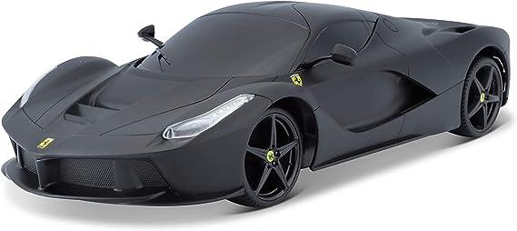 Bauer Spielwaren 581086 1 581086 3 Ferrari Laferrari Ferngesteuertes Auto 1 24 Matt Schwarz Amazon De Spielzeug