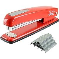 Mr. Pen- Stapler with Staples, Red Stapler, 1000 Staples, Staplers for Desk, Staplers Office, Office Stapler, Desk…