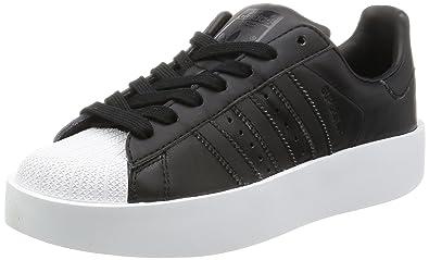 adidas black trainers womens