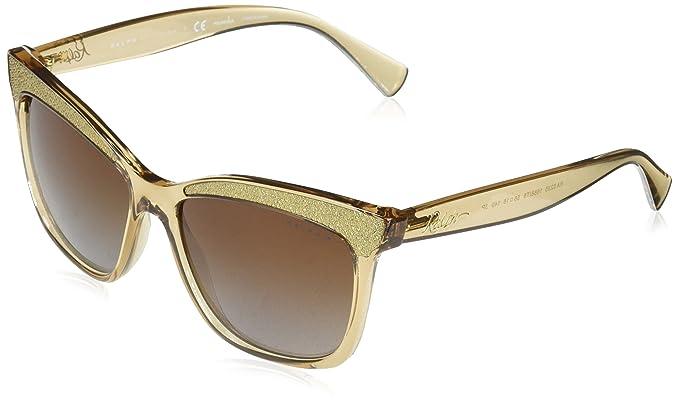 Ralph 0Ra5235, Gafas de Sol para Mujer, Beige, 56