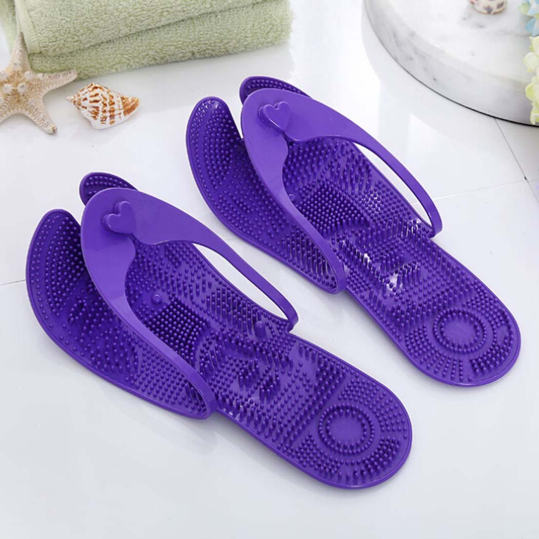 Fascigirl Flip Flops Portable Travel Massage Sandals Indoor Bathroom Shower Slippers Unisex Slippers