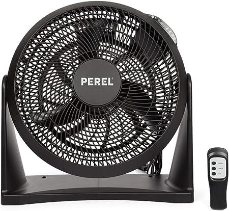 Práctico ventilador con mando a distancia y temporizador ...