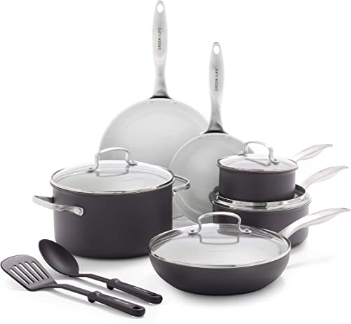 Classic Pro Healthy Ceramic 12-Piece Cookware Set
