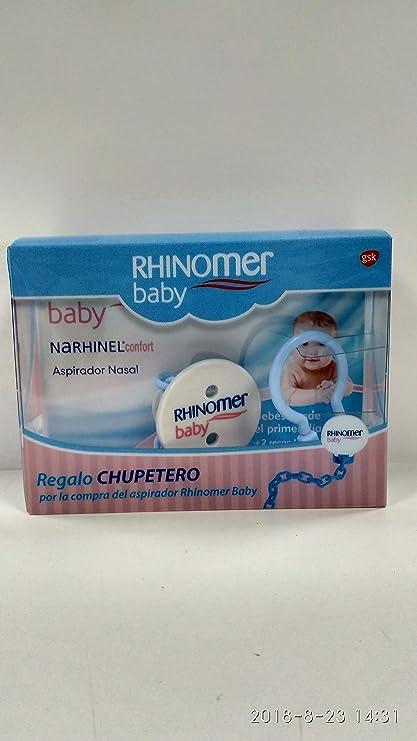 RHINOMER BABY ASPIRADOR PROMO CADENA CHUPETE: Amazon.es: Belleza